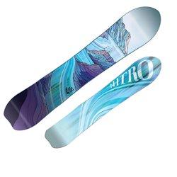 Snowboard Nitro Drop da donna