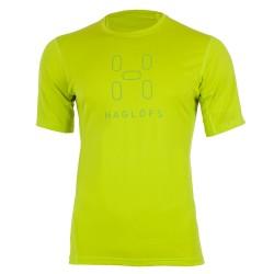 T-shirt trekking Haglofs Intense Logo hombre