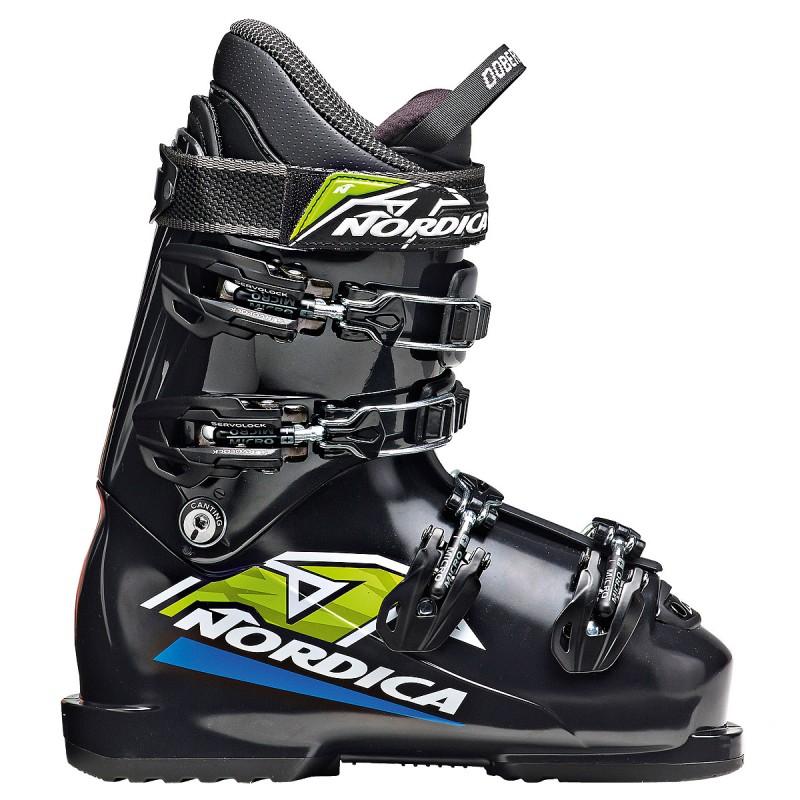 scarponi sci Nordica Dobermann Team Junior (Colore: nero, Taglia: 31)