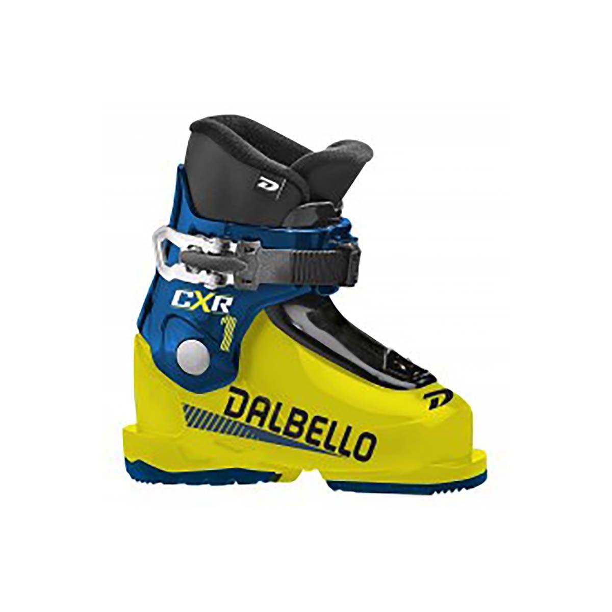Scarponi sci Dalbello Cxr 10 Jr (Colore: giallo-petrol, Taglia: 15.5)