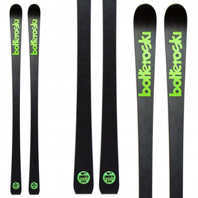 Sci Bottero Ski Limonetto con attacchi V614 con piastra WC Race V10