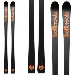 Sci Bottero Ski Alpetta 2 con attacchi VIst Vss412 con piastra Speedspacer