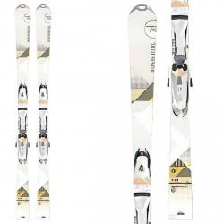 Ski Rossignol Unique 8 with Saphir 110 ski bindings