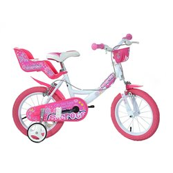 Bicicletta Dino Bikes Little Heart 16