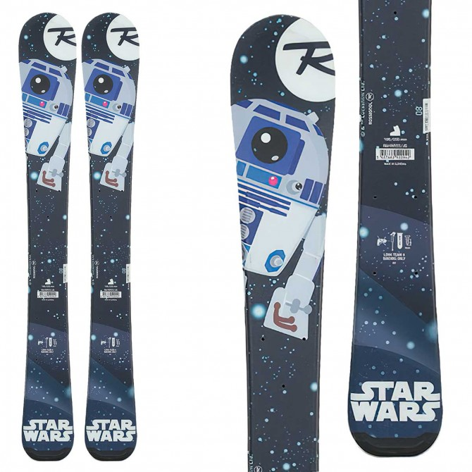 Rossigno Star Wars Baby skis with Team 2 ROSSIGNOL bindings