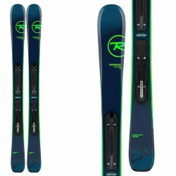 Rossignol Experience Pro skis with Kid X4 bindings