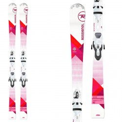 Rossignol Unique Xelium skis with Xpress 10 bindings