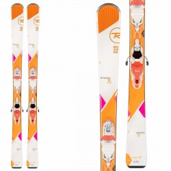 Rossignol Temptation 75 ski with Xpress 10 bindings