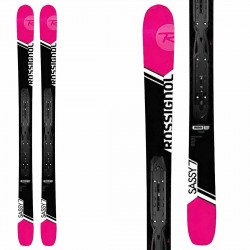 Rossignol Sassy 7 skis with Nx12 bindings