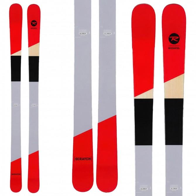 Rossignol Scratch ski with spx 12 bindings