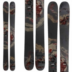 Rossignol Black ops 118 skis avec fixations spx 12
