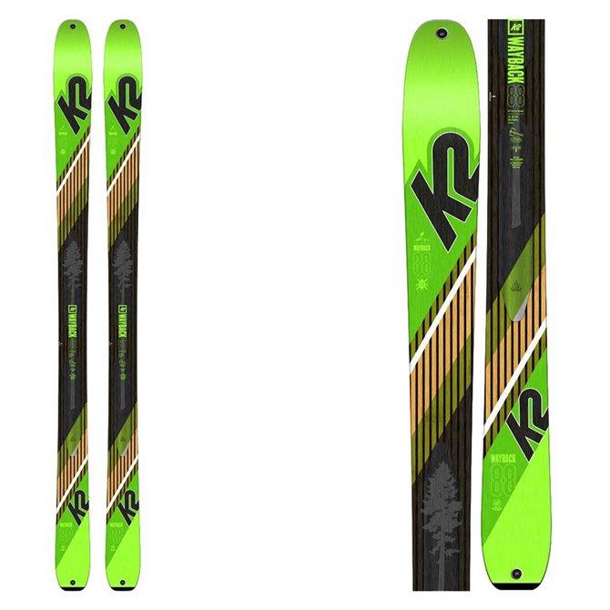Ski mountaineering K2 F18 Wayback 88
