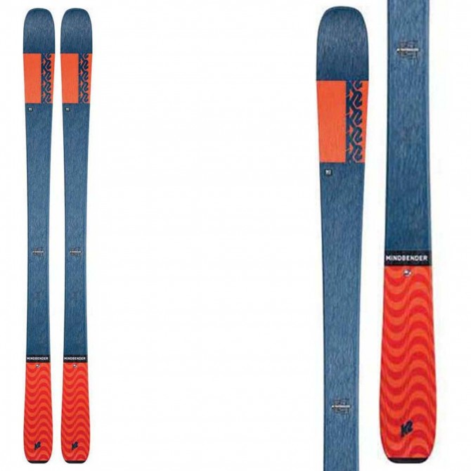 Ski mountaineering K2 Mindbender 90 C K2 Ski mountaineering