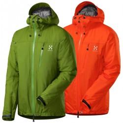 alpinism jacket Haglofs Qanir man