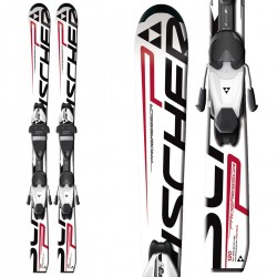 ski Fischer Progressor Junior + bindings FJ4 AC