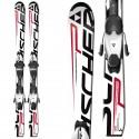 ski Fischer Progressor Junior + bindings FJ4 AC