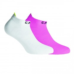 Calcetines Cmp Ultralight Junior fucsia-blanco