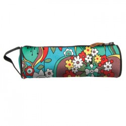 caja de lápices Mi-Pac floral