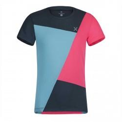Camiseta Trekking Montura Color Block
