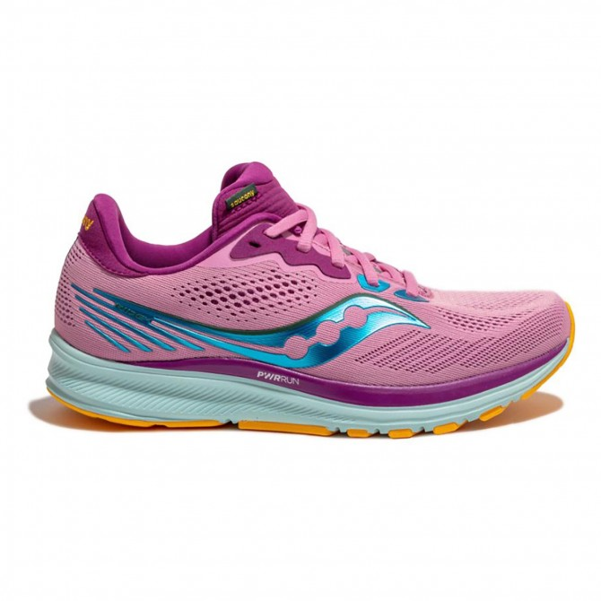 Shoes Saucony Ride 14 SAUCONY Trail running shoes