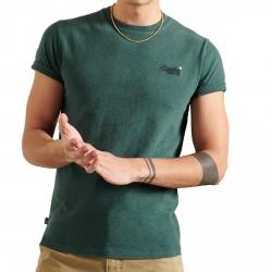 Camiseta Superdry Bordado orgánico de algodón