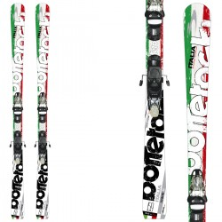 Ski Bottero Ski Italia + fixations Vist V412 + plaque Vist WC Air Soft
