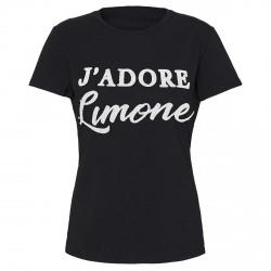 T-shirt Bottero Ski J'Adore Limone