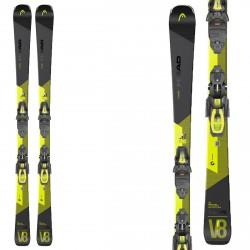 Ski Head V-Shape V8 sw avec fixations Prd 12 gw br 85 HEAD All mountain