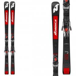 Nordic Skiing Dobermann GSJ Plate with Nordic Race 10 bindings