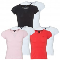t-shirt Gant mujer double pack