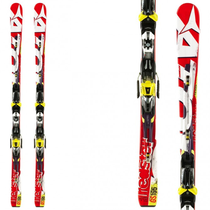 sci Atomic Redster Gs D2 + attacchi Neox 12
