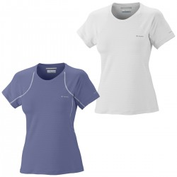 t-shirt interior Columbia Quickest Wick mujer