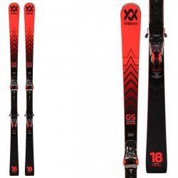 Ski Volkl Racetiger GS Master avec fixations Xcomp 16 W VOLKL Race carve - sl - gs