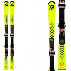 Ski Volkl Racetiger SL R JR avec fixations Xcomp 12