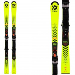 Ski Volkl Racetiger GSL R JR w plaque S avec fixations race 8