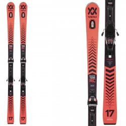 Völkl Racetiger RC ski with VMotion 12 GW bindings