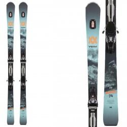 Völkl Deacon 74 ski with RMotion2 12 GW bindings