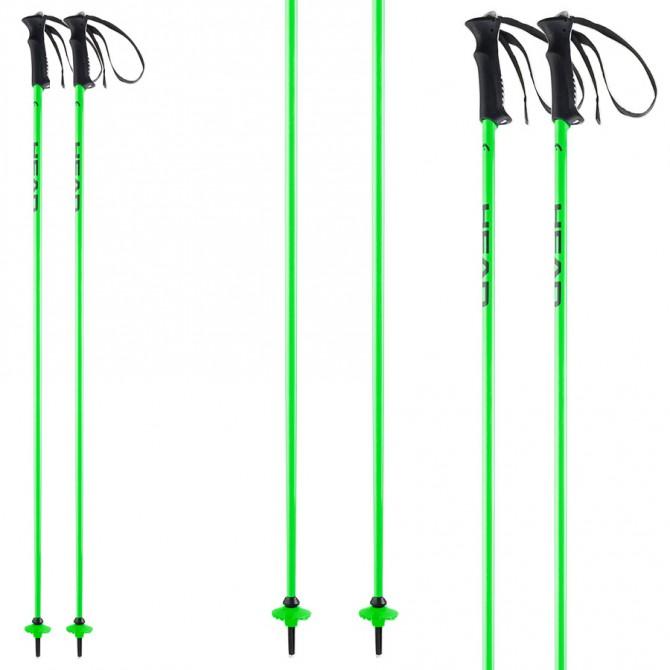 Bastoni sci Head Classic Neon verde