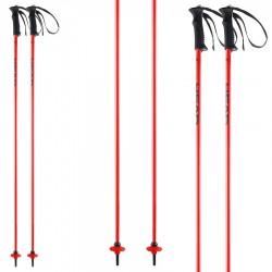 ski poles Head Classic Neon red