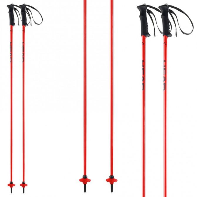 Bastoni sci Head Classic Neon rosso
