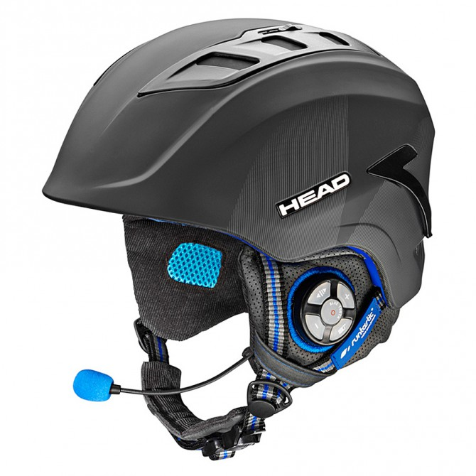 Casco sci Head Sensor Bt Runtastic