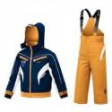 Conjunto esquí Astrolabio YG7H Baby azul-naranja