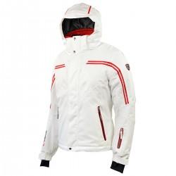 completo de esquì Bottero Ski Adonis blanco-rojo hombre