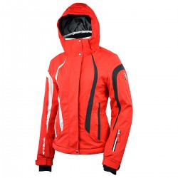 chaqueta esquì Bottero Ski Euthalia rojo mujer