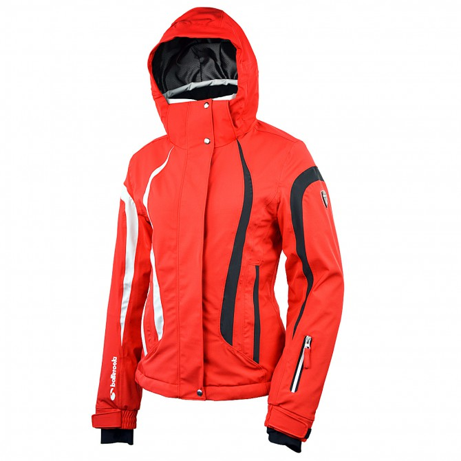 Giacca sci Bottero Ski Euthalia rosso Donna