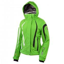 ski jacket Bottero Ski Euthalia green woman