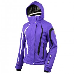 ski jacket Bottero Ski Euthalia purple woman