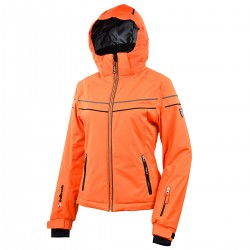 ski jacket Bottero Ski Jessenia orange woman