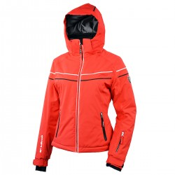 ski jacket Bottero Ski Jessenia red woman