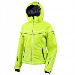 ski jacket Bottero Ski Jessenia green woman